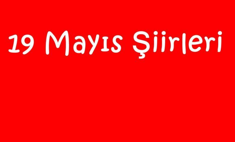 19 Mayıs Şiirleri