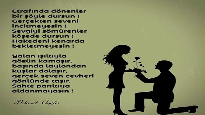 Photo of Sevgiliye Anlamlı Sözler