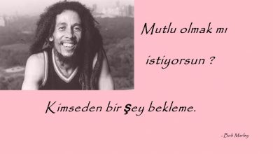 Photo of Bob Marley Sözleri