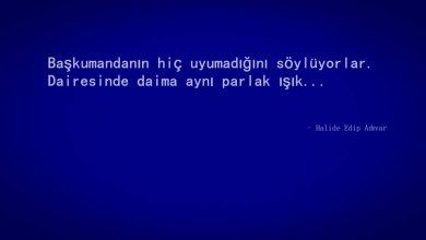 Photo of Halide Edip Adıvar Sözleri