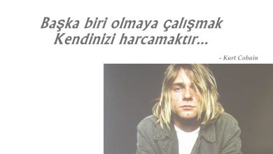 Photo of Kurt Cobain Sözleri