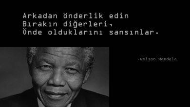 Photo of Nelson Mandela Sözleri