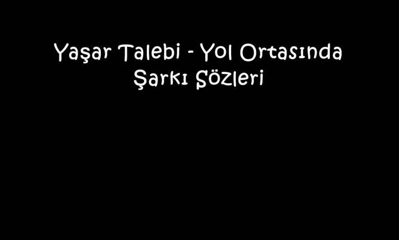 Yaşar Talebi - Yol Ortasında Şarkı Sözleri