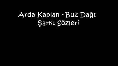 Photo of Arda Kaplan – Buz Dağı Şarkı Sözleri