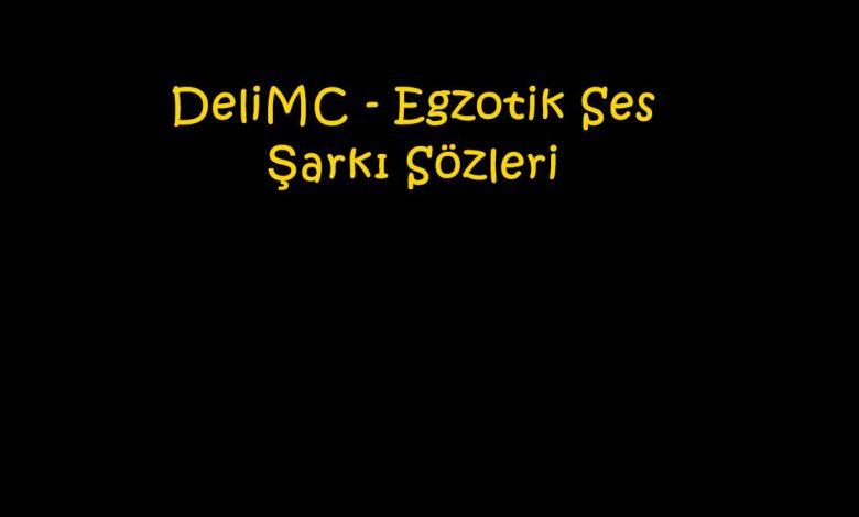 DeliMC - Egzotik Ses Şarkı Sözleri
