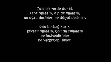 Photo of Post Altına Müthiş Sözler